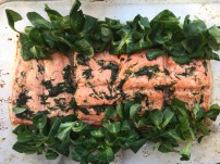 Herb & lemon roast salmon